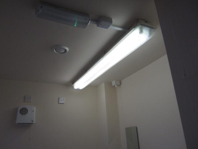toilet light before